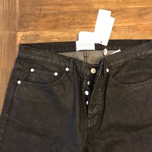 NWT Sandro Paris French size 34. Black buttons fly